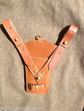Early Pattern Leather Sword Frog for British Sam Browne Belt - Boer War