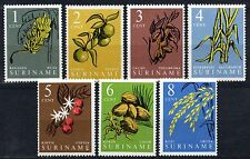 Suriname - 1961 Definitives plants Mi. 389-95 MNH