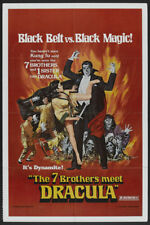 The Legend of the 7 golden Vampires Horror poster #6