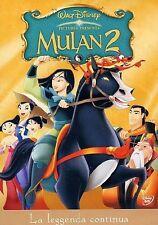 Mulan 2 (2004) DVD Ologramma Rettangolare