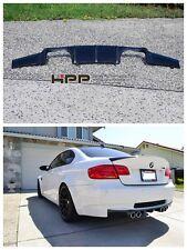For BMW E92 M3 Carbon Fiber Rear Bumper Diffuser Spoiler V type