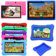 "7"" Kids Tablet PC Google Android Quad Core 16GB WIFI HD Dual Camera Bundle Case"