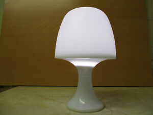 Kingavon Large Table Desk Lamp White Battery Operated