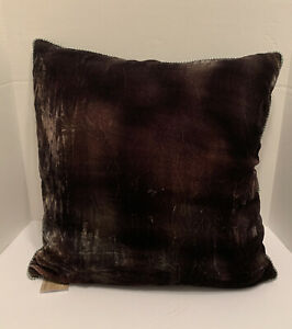 NWT NEW Dransfield & Ross Anthracite Decorative Moon Dust Throw Pillow 20x20