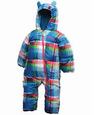 Karierter Schneeanzug für Baby Jungen