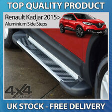 RENAULT KADJAR 2015+ ALUMINIUM SHERWOOD STYLISH SIDE STEP BARS RUNNING BOARDS