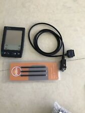 Palm Pilot IIIxe PDA with serial cable and pack of 3 pens