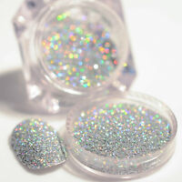 Nail Glitter Dust Powder Holographic Laser Gorgeous Silver  Decoration
