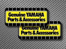 """2pc 2"""" Vintage Yamaha Parts factory decals sticker YZ AHRMA RT DT IT YZF 250 400"""