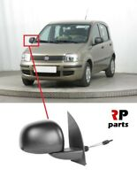 FOR FIAT PANDA 2009 - 2012 NEW WING MIRROR MANUAL BLACK RIGHT O/S LHD