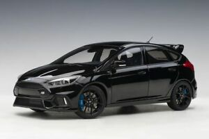 1:18 Ford Focus RS by AUTOart in Shadow Black 72952