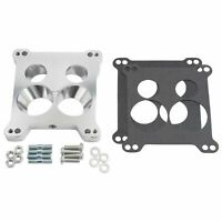 Edelbrock Carburetor Adapter Kit AFB 4 BBL Carb to Quadrajet Base Manifolds