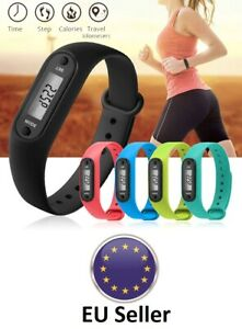 Digital Pedometer LCD watch distance calorie counter