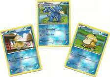 RARE GOLDUCK & 2 PSYDUCK -2 EVO Boundaries Crossed Pokemon Card REV HOLO- MINT