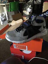 Nike Huarache Free Shield Mega Megatron Size 12 CJ81 Shoes Lions Calvin Johnson