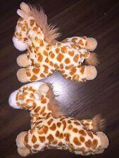 1Stck Wild Republic Plüschtier Kuscheltier Giraffe Pferd Kuh Gefleckt Braun Weiß
