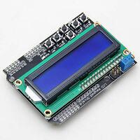 1602 HD44780 LCD Display Modul Anzeigen mit 6 Tasten Keypad Shield Für Arduino