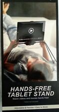 Vibe Essentials Hands Free Tablet Stand, Adjustable, Flexible, Easy To Store~NIB