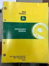 John Deere Operators Manual 6605 Tractors #Omal116328 Used