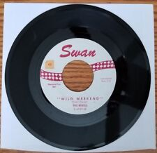 Vintage 45 RPM The Rebels Wild Weekend & Wild Weekend Cha Cha '62 Tommy Shannon