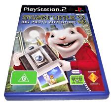 Stuart Little 3 Big Photo Adventure PS2 PAL *Complete*