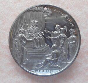 King William IV Coronation medallion / Crowned September 8th 1931.
