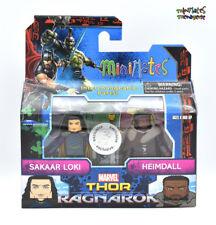 Marvel Minimates TRU Toys R Us Thor Ragnarok Movie Sakaar Loki & Heimdall