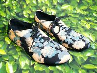 BNWT New Look Black Blue Nude Floral Oxford Lace Shoes RRP £24.99 Size 4/37