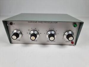 Vintage Hamgear PMX Preselector HF Band Radio ATU PreSelector RF Amplifier