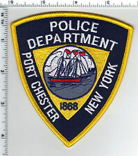 Port Chester Police (New York) Shoulder Patch from the 1980's
