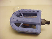 "NOS Union Old School BMX Pedals...Blue...1/2"" Spindle...USA...Hutch...Haro..Bike"