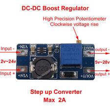 2A DC-DC Boost Converter 2v-24v to 5v-28v 9v 12v 24v Step Up Power Supply Module