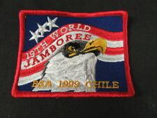 1999 World Jamboree US Contingent Patch    c38