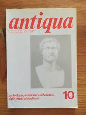 Rivista d'archeologia Antiqua n.10 luglio/settembre 1978