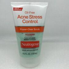 Neutrogena Oil-Free Acne Stress Control Power Clear Scrub Acne Treatment 125 ml