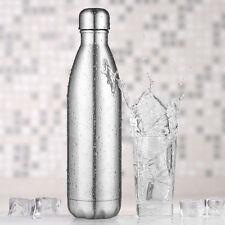 Thermosflaschen 750ml Trinkflasche edelstahl Wasserflasche Vakuum Isolierflasche