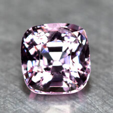 0.95CT CUSTOM CUSHION CUT, AWESOME FINE LUSTER UNHEATED PINK SPINEL from BURMA