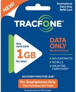 10 X Tracfone Android 10 G Card Data Only 10GB Smartphone Ship Free