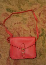 Nathalie Andersen Red Satchel Style Crossbody Shoulder Bag bnwot