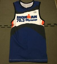 Brand New Sugoi Tri Tank Top Mens Ironman Triathlon 2013 Syracuse Shirt Sz Small