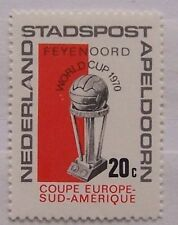 Stadspost Apeldoorn - Zegel Feyenoord winnaar Worldcup Voetbal, Football 1970