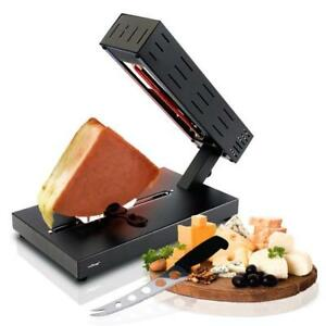 NutriChef PKCHMT26 Electric Cheese Melter | Swiss Style Cheese Raclette Server