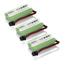 3x 2.4v 0.9Ah Home Phone Battery for Uniden BT-1021 BT-1025 BT-1008S WITH43-269