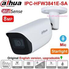 Dahua 8MP AI Starlight IR Built-in Mic H.265+ SMD+ PoE IP Camera IPC-HFW3841E-SA