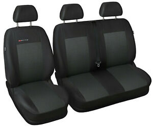 Van seat covers Renault Trafic Vauxhall Vivaro Primastar tailored seat covers