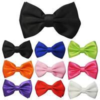 Bowtie Classic Tuxedo Pre-Tied Adjustable Bow Tie Necktie Wedding Novelty Party