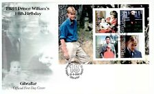Gibraltar 2000 FDC MS 18th Birthday Of Prince William - Royalty Theme