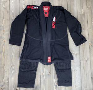 UFC BLACK KINGZ BJJ jiu jitsu Gi Kimonos 100% cotton Size M4