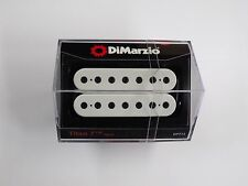 DiMarzio Titan 7 String Neck Humbucker White W/Black Poles DP 713