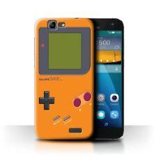 Housses et coques anti-chocs orange Pour Huawei Ascend G pour téléphone mobile et assistant personnel (PDA)